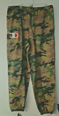 NWT MENS CHAMPION BROWN CAMO SZ. 2XLT BIG & TALL FITNESS / L