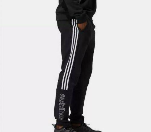 nwt mens jogger cotton sweatpants black 3
