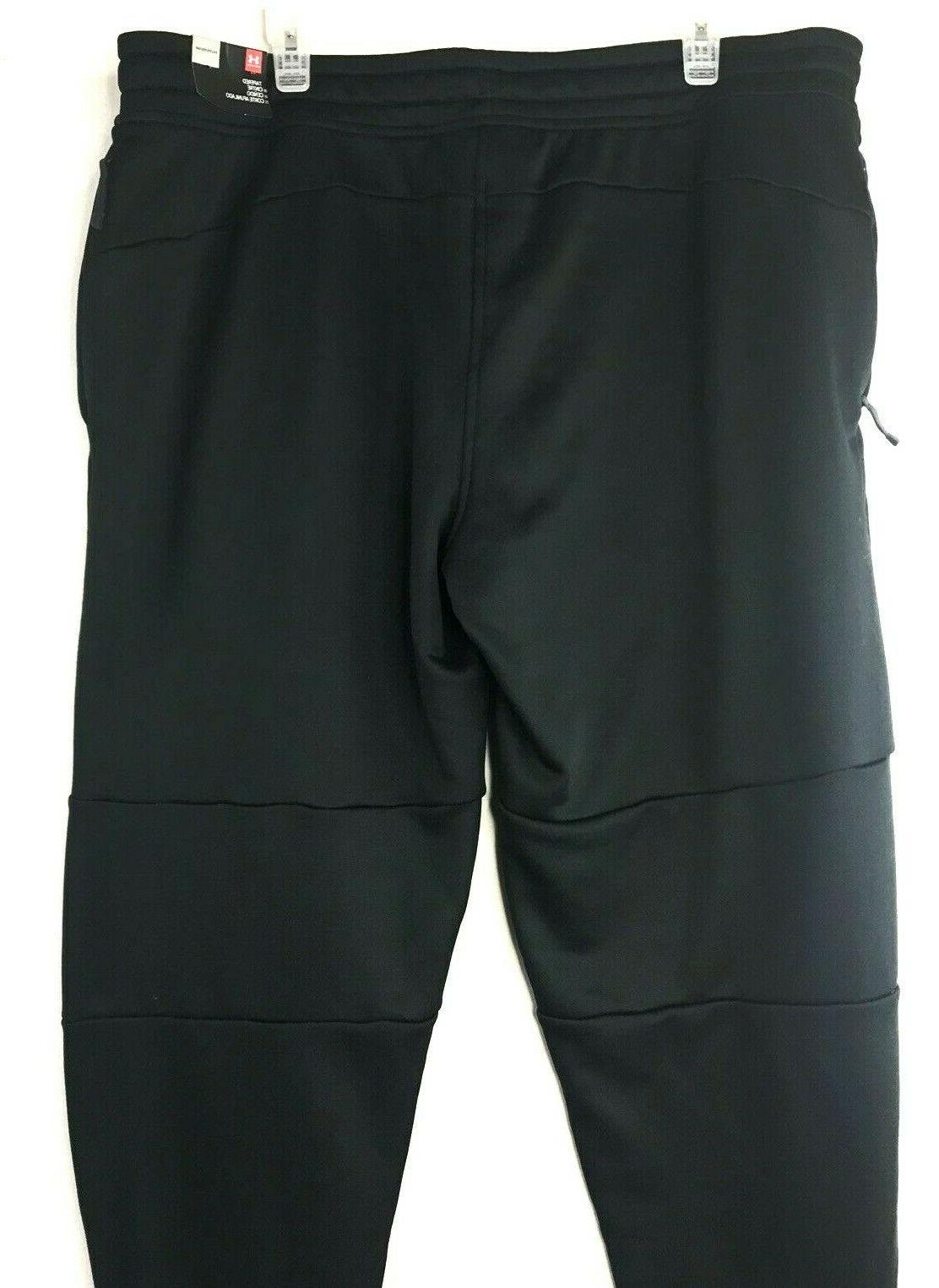NWT Sweatpants Joggers Tapered Cold Gear Black