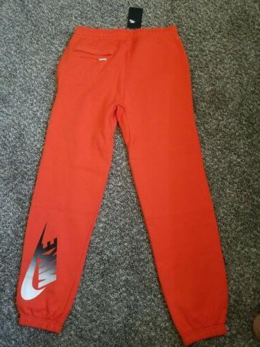 NWT Nike NSW City Brights Cuff Pants Size S CI3321 891 Fleece Sweatpants