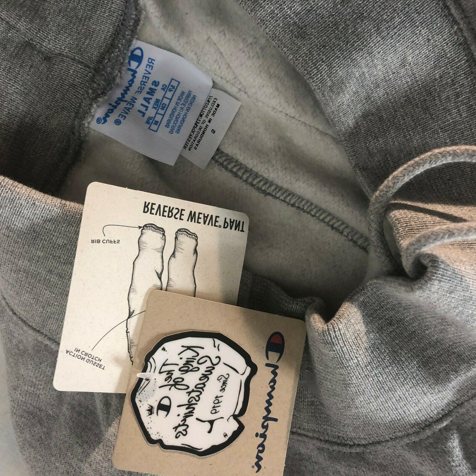 NWT Sweatpants Logo Men's Small Joggers Grey