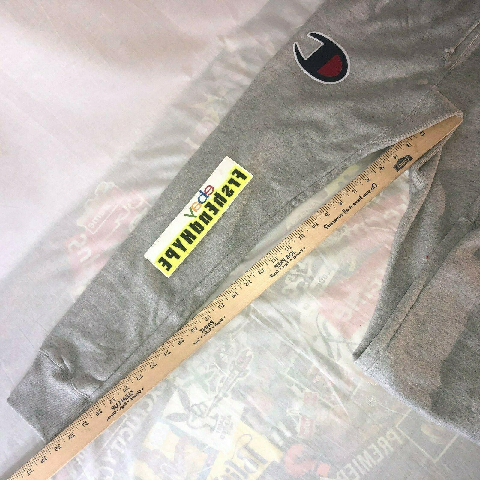 NWT Champion Reverse Weave Sweatpants Big Men's Size Grey