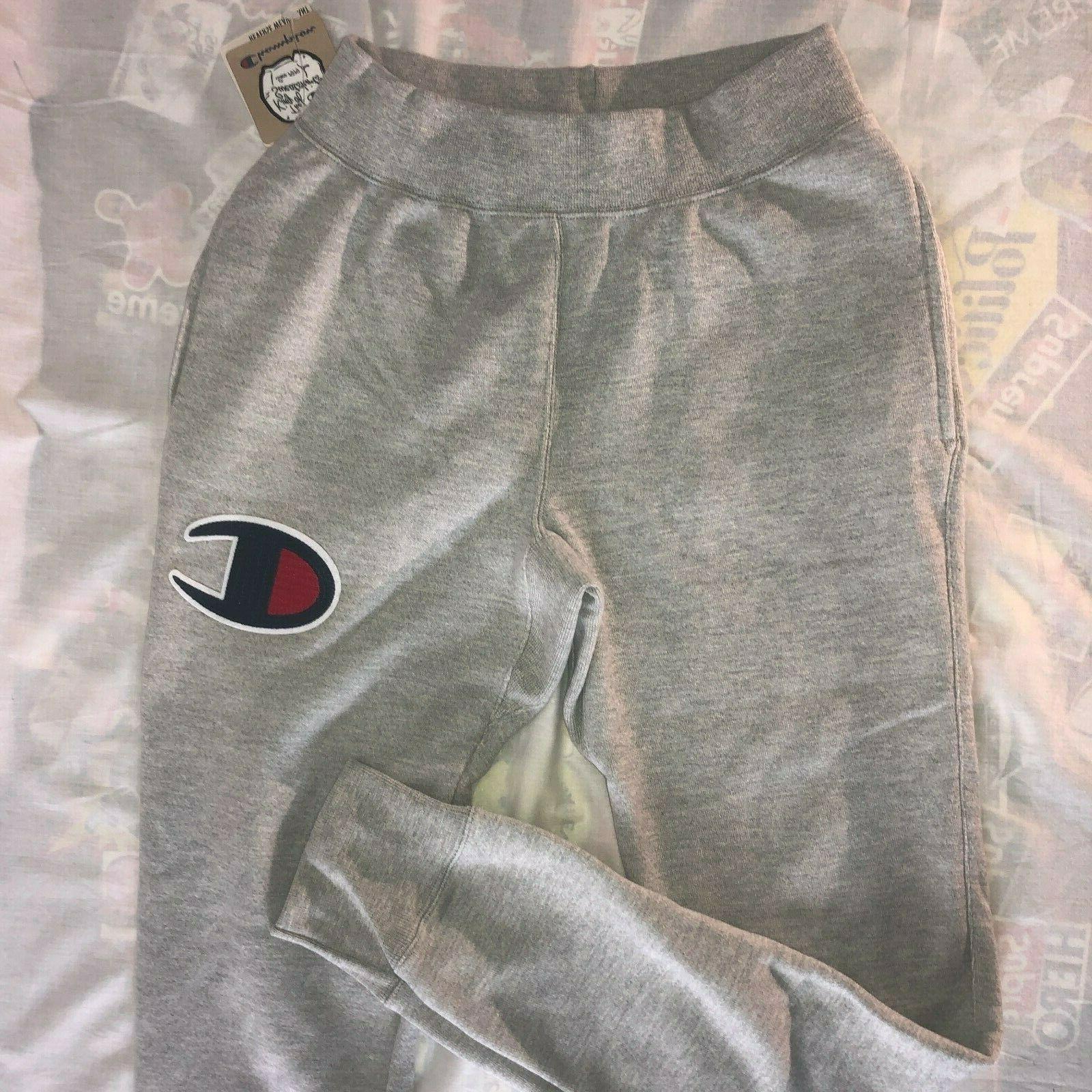 nwt reverse weave sweatpants big c logo
