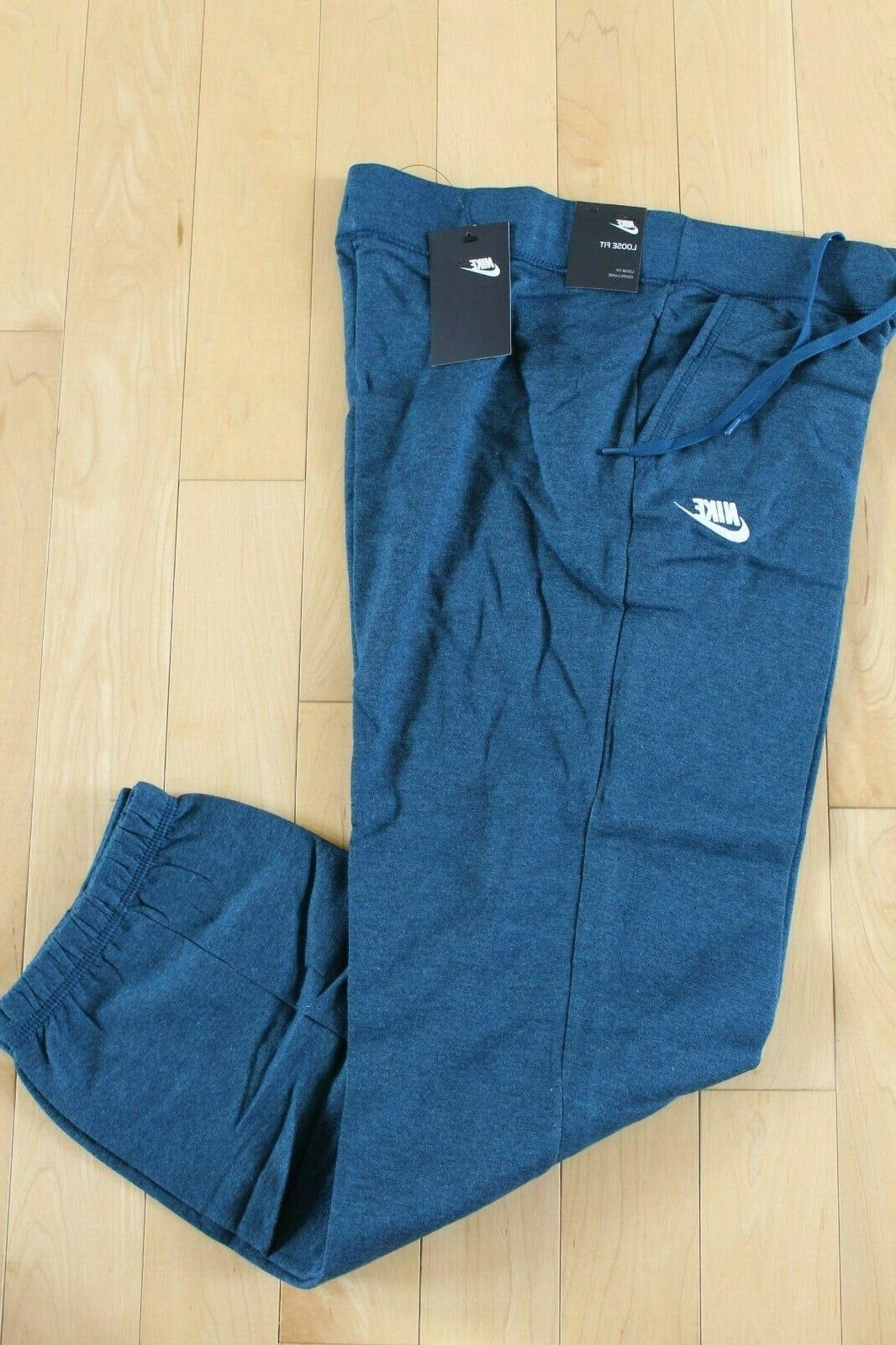 NWT Fleece Sportswear Loose Fit Sweatpants S XXL