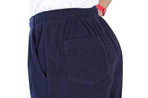 Nonwe Casual Fleece Hiking Pants Black S