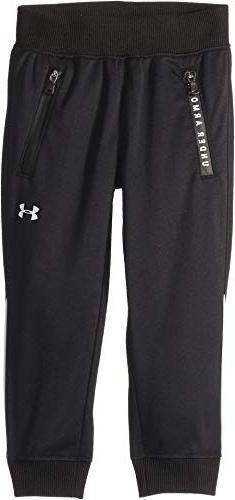 Under Armour Kids Baby Girl's Pennant Jogger  Black 3T