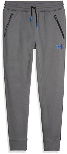 Under Armour Boys' Pennant Tapered Pants,Graphite /Ultra Blu