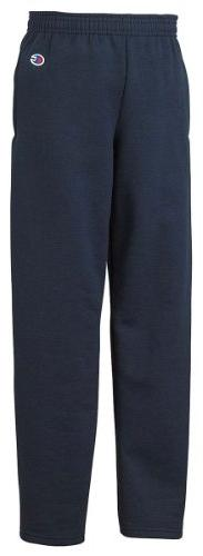 Champion Boys Big Powerblend Eco Fleece Sweatpant, Navy, L