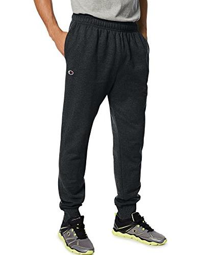 Champion Powerblend Fleece Jogger Black, Medium