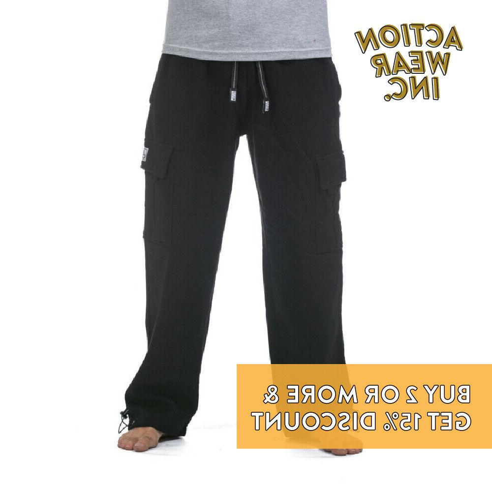 PROCLUB CLUB PLAIN PANTS POCKET CASUAL SWEATPANTS ACTIVE PANTS