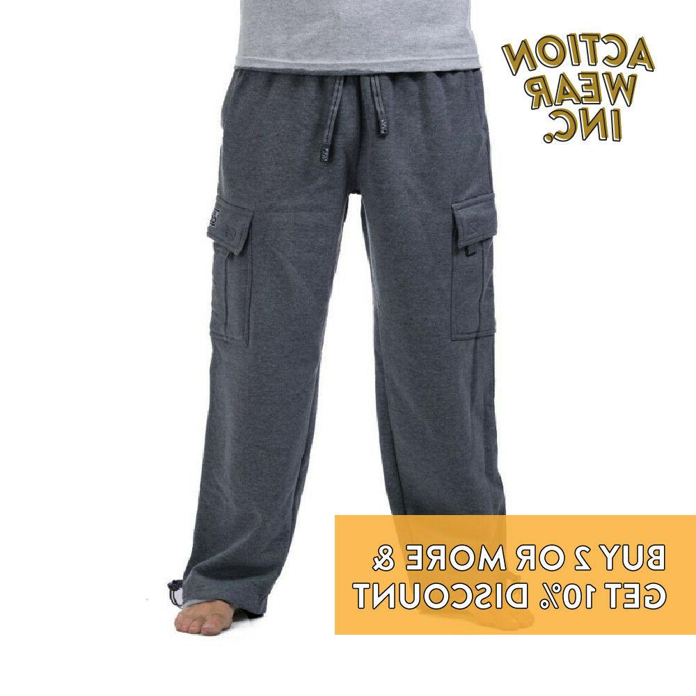 PROCLUB CLUB PLAIN PANTS POCKET CASUAL ACTIVE PANTS
