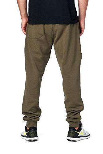 PROCUBE Men's Casual Sweatpants Basic Fleece Jogger Elastic Waist