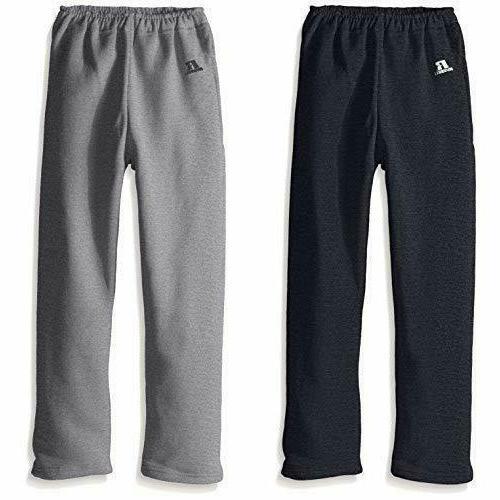 Russell Athletic Boys' Big Youth Dri-Power Fleece Bottom Pocket Pant