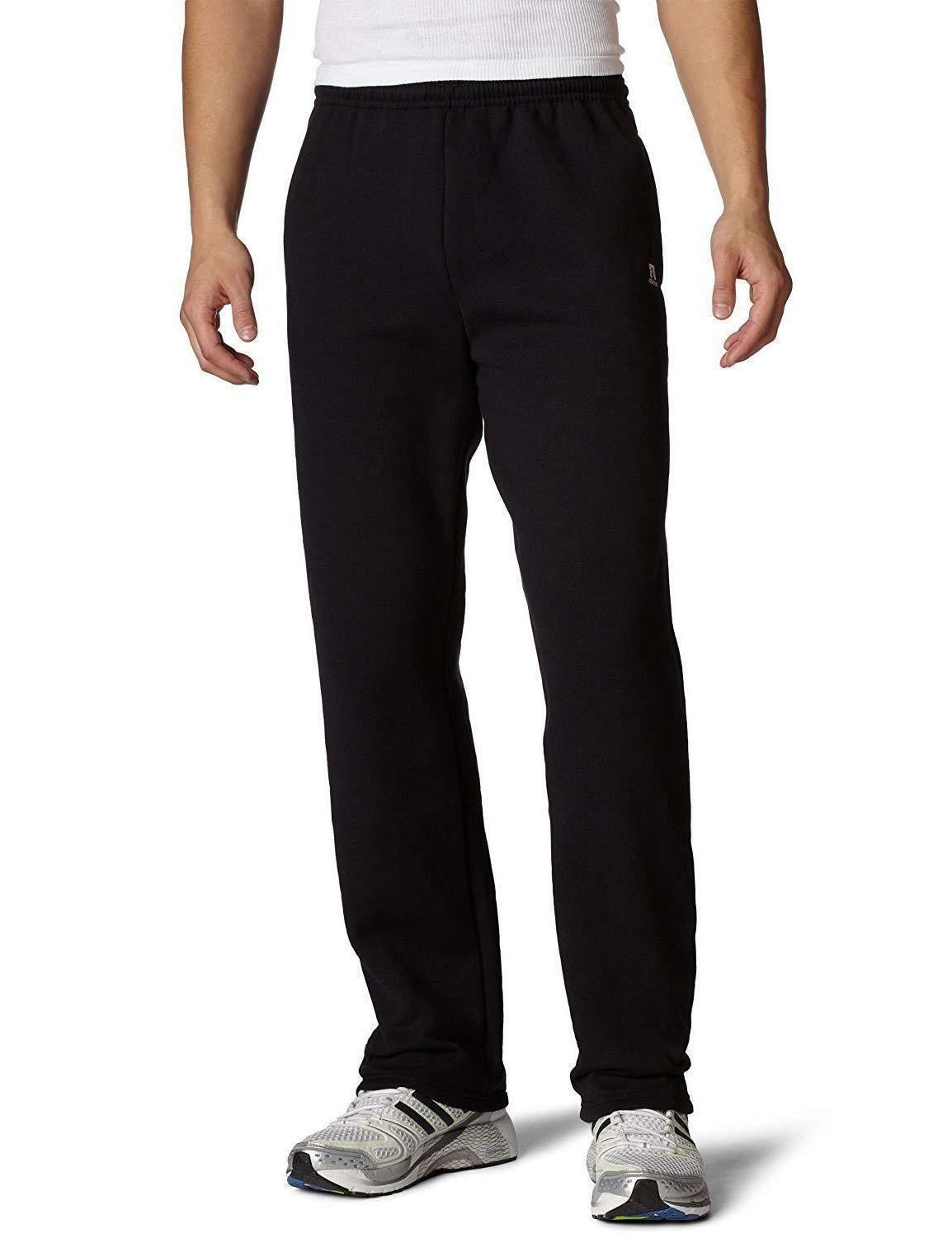 Russell Athletic Dri-Power Open Sweatpants with Pockets