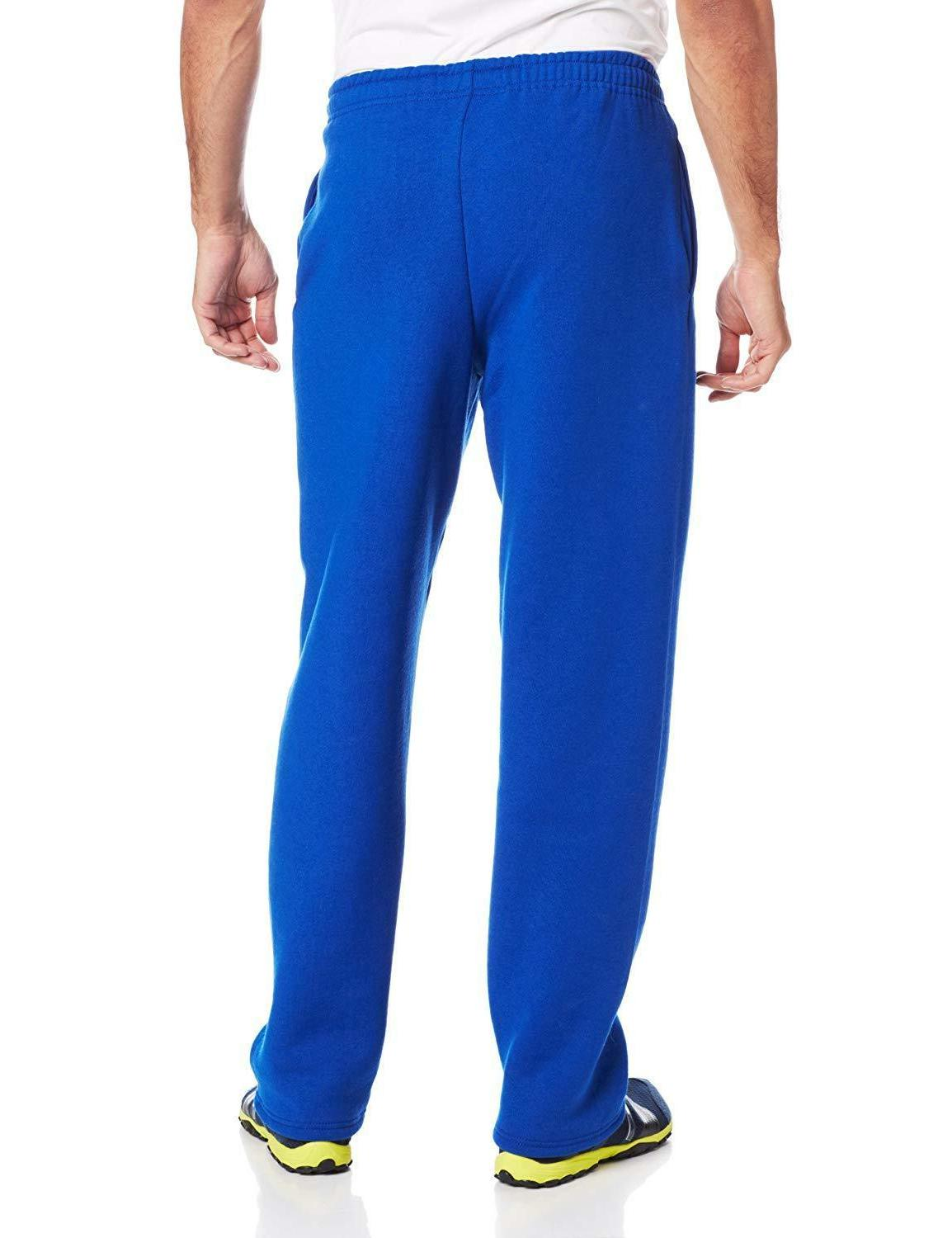 Russell Athletic Open Bottom Sweatpants Pockets