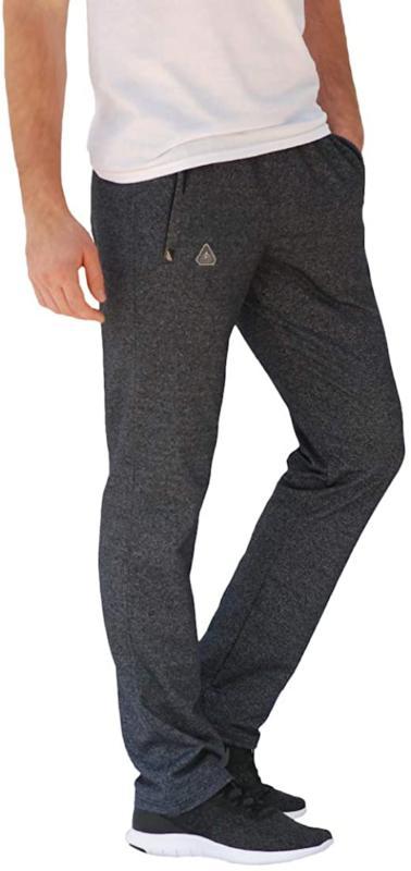 Scr Men'S Pants Athletic Inseam Black