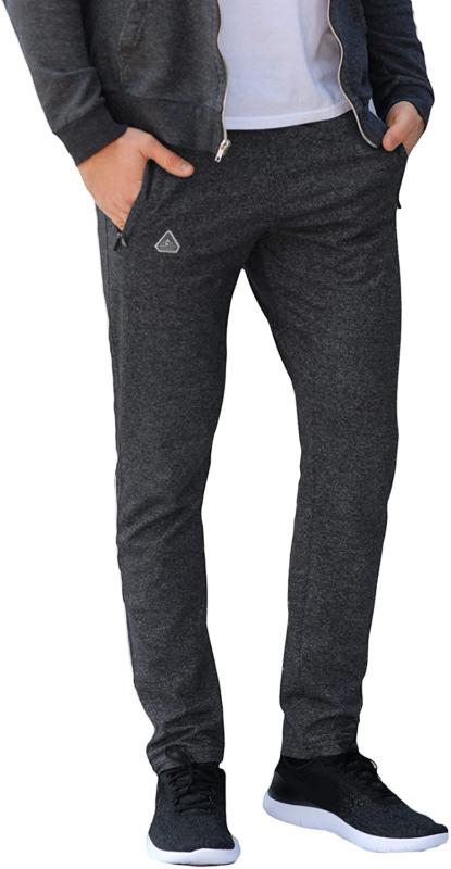 Scr Men'S Workout Pants Athletic Sweatpants Inseam Bl