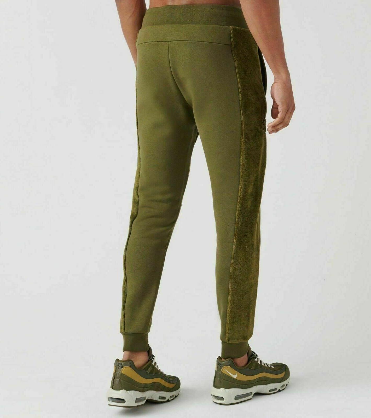 Nike Sherpa Sweatpants Green NWT