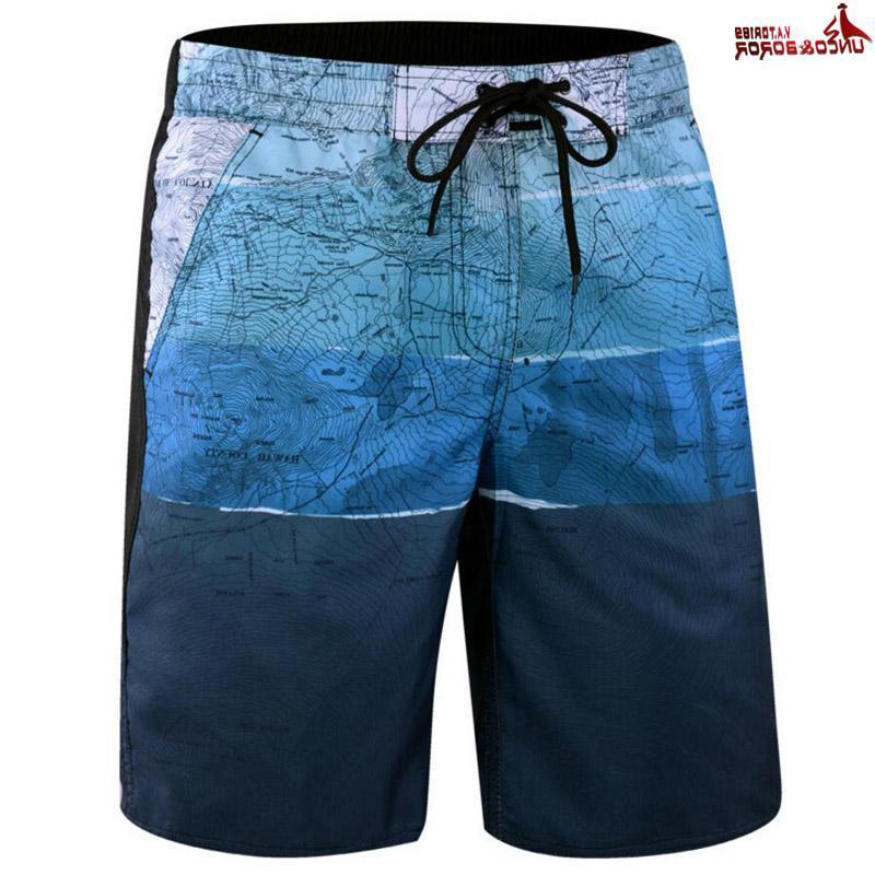 Shorts Mens Bodybuilding Dry Boardshorts size <font><b>L</b></font>~6XL Summer Male Beach Shorts