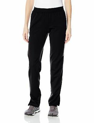 adidas Women's Soccer Tiro 17 Pants Black/White/White Small
