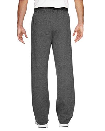 Fruit Sofspun Sweatpants,Charcoal Heather,Large