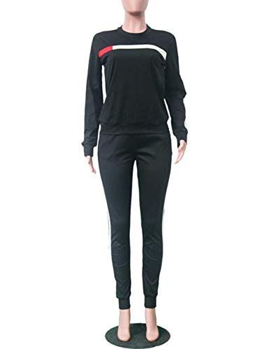 Stripe Sweatpants Piece
