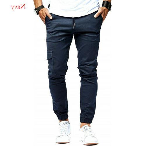 Summer Pants Nine Multi-Pocket Sweatpants