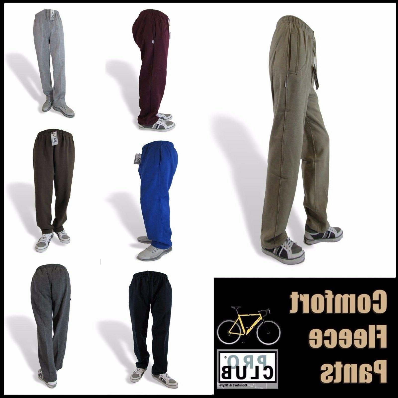 sweat pants mens joggers proclub comfort fleece