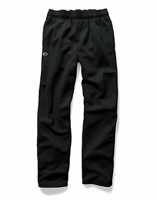 sweatpant fleece men open bottom powerblend sweat