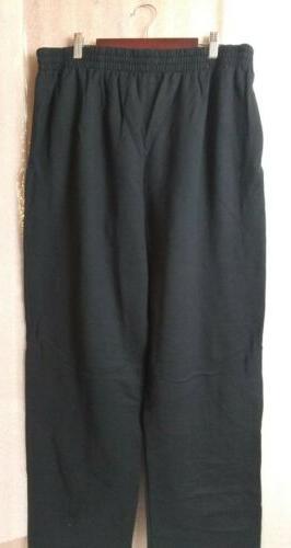 Fruit of sweatpants Color Black XL