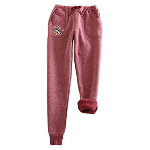 sweatpants women pants casual winter long casual