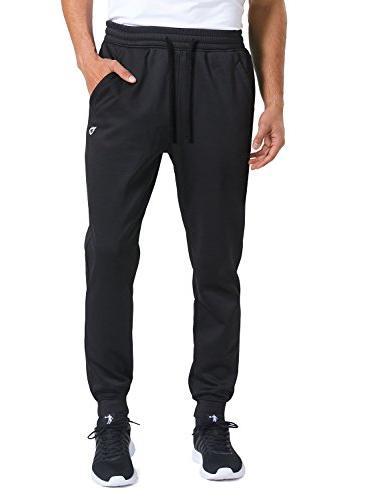 thermal fleece lined jogger sweatpants