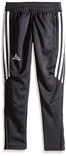 Boy's Adidas Tiro 17 Training Pants, Size XL  - Grey