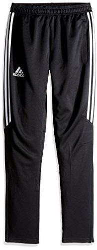 Boy's Adidas Tiro 17 Training Pants, Size L  - Black