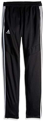 adidas Tiro19 Youth Training Pants, Black/White, Large