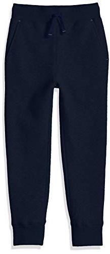 Amazon Essentials Toddler Boys' Fleece Jogger, Navy, 4T