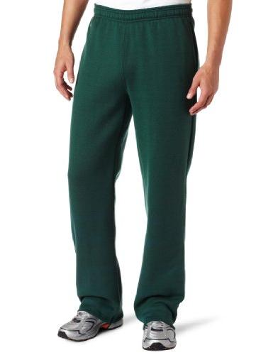 Soffe Men's Training Fleece Pocket Pant Dark Green X-Large