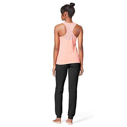 U.S. Polo Assn. 2 Piece Tank Top Yoga Sweatpants Pink Large