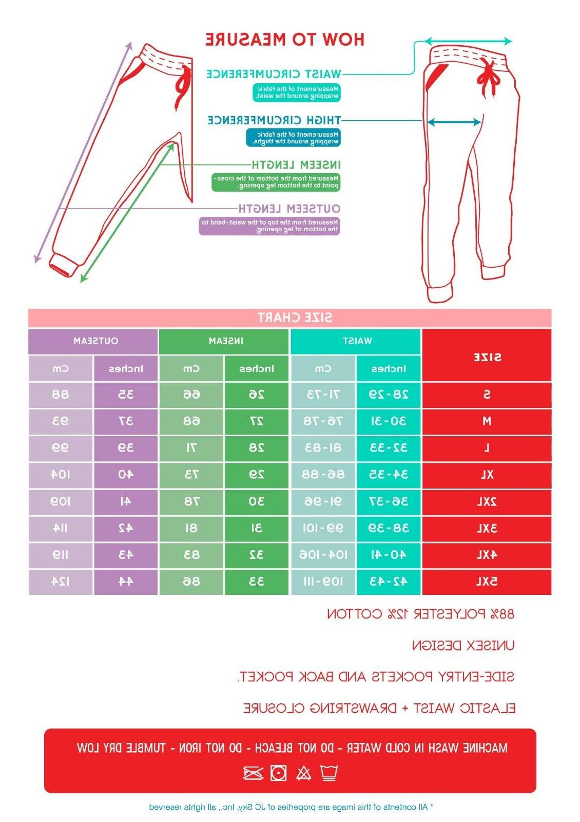 Mens Fleece Workout Gym Pants - Bottom