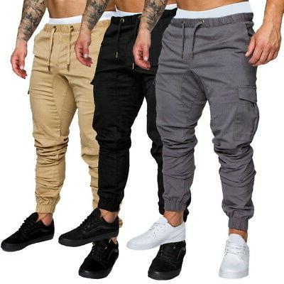 US Fashion Sports Pants Trousers Casual Jogging