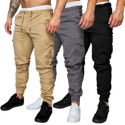 US Fashion Men Sports Pants Long Casual Cozy Jogging Pant US