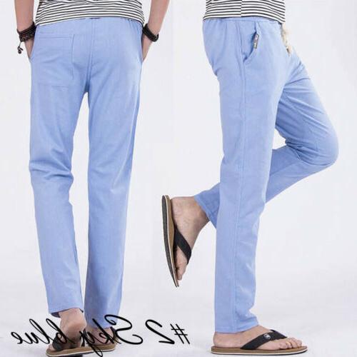 US Casual Slim Pants Fitness Sweatpants Straight