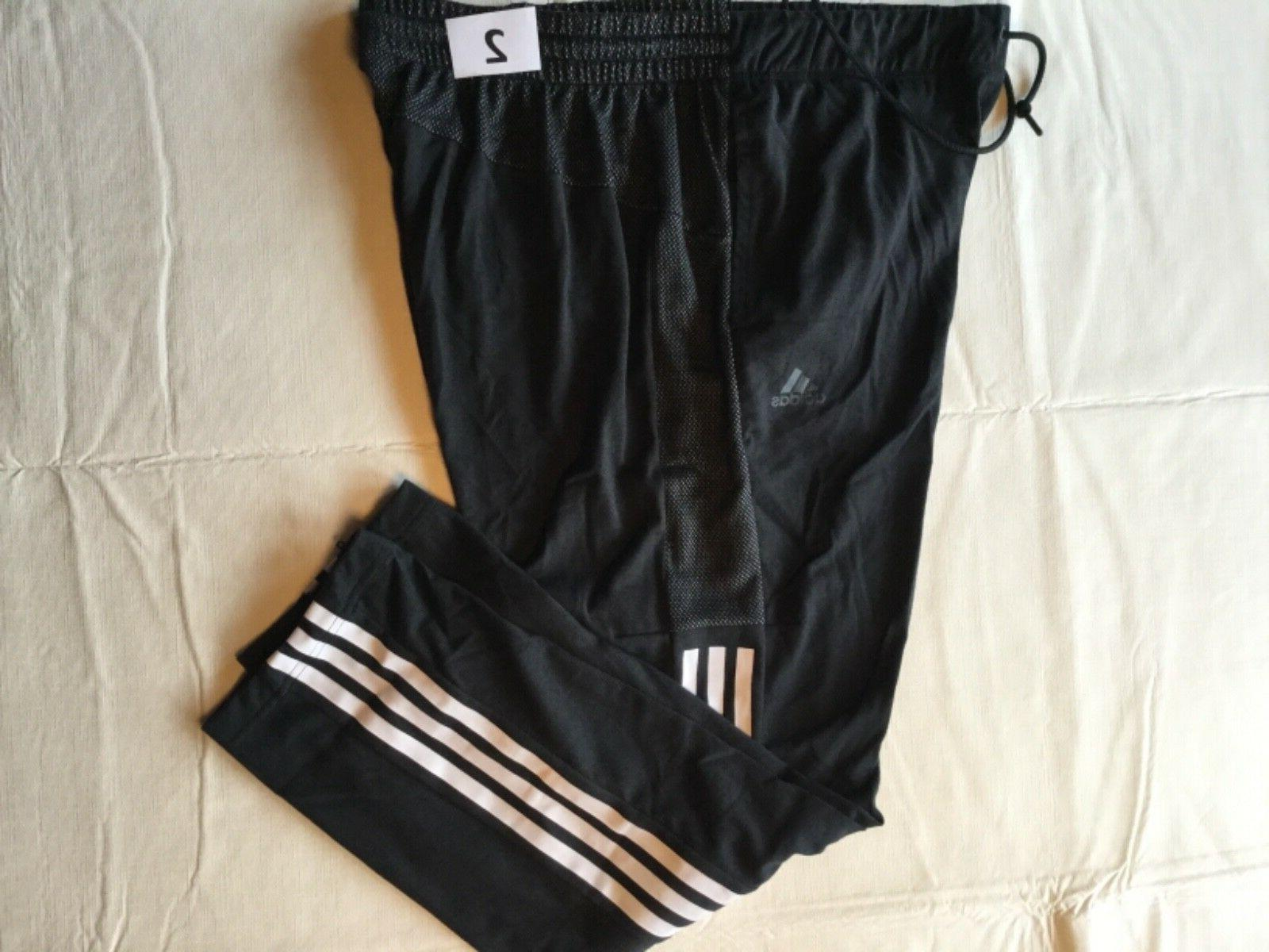 Adidas Warm Up Pant Men New Tags Gray Sizes