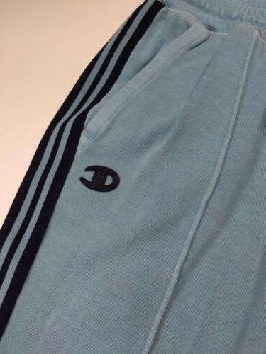 Women 100% authentic champion long capri pants logo