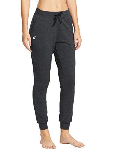 Baleaf Women's Lounge Pants with Pockets Charcoal