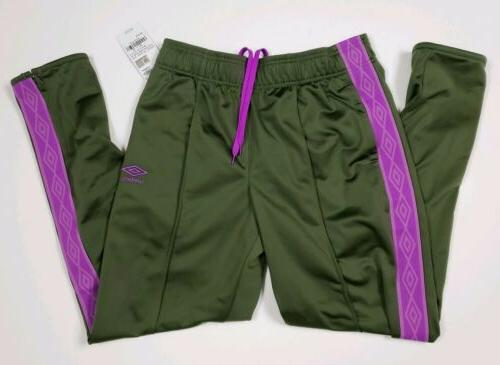Umbro Activewear Sweatpants Green Purple Sizes XS M