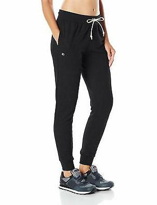 women s french terry jogger black x