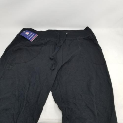women s jersey pocket pant black medium