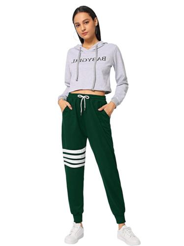SweatyRocks Women's Pants Color Block Yoga