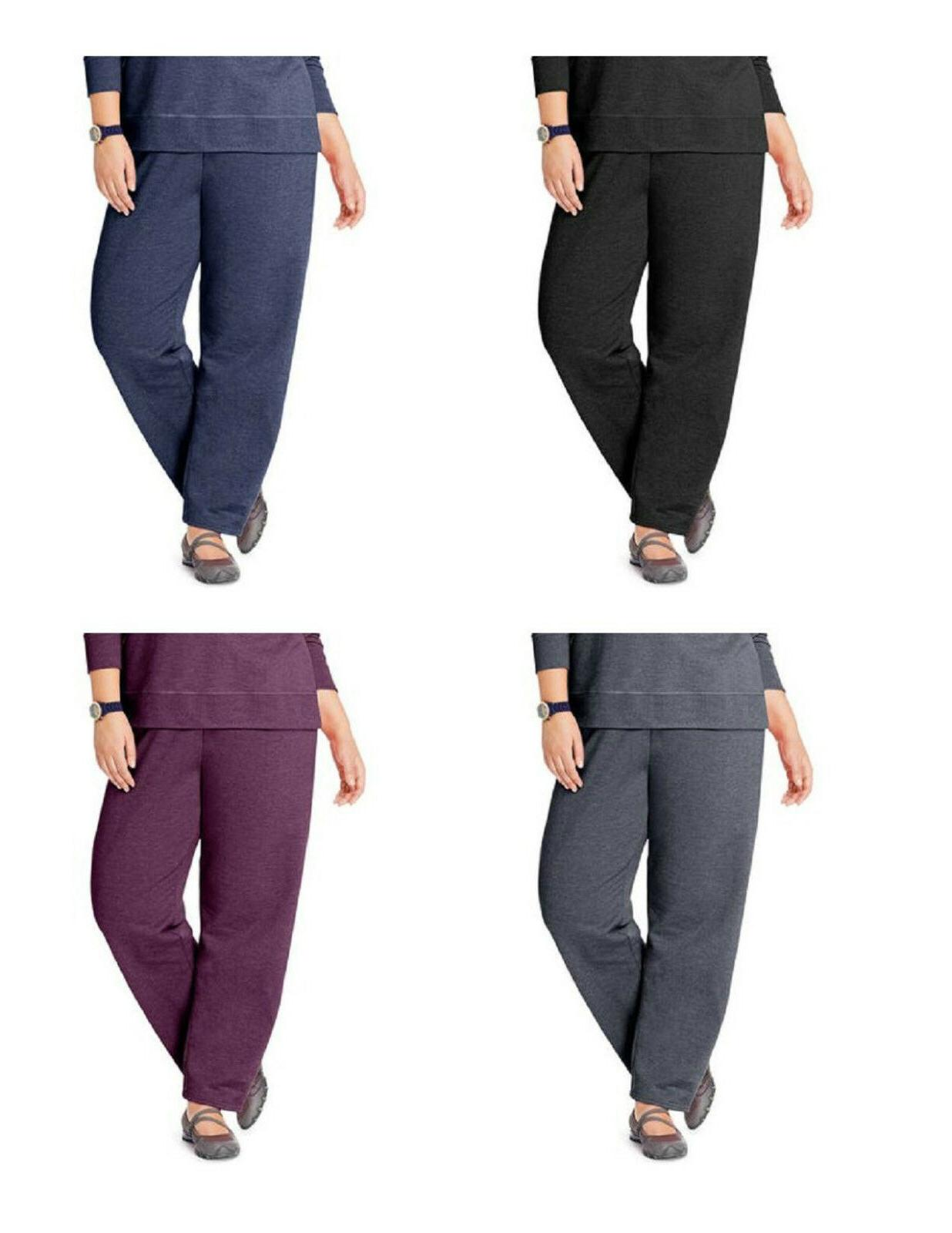 Just My Size Women's Plus Size~Petite PLus Fleece Sweatpants